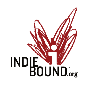 IndieBound logo for retailer selling the book Ponderings of the Pedaling Pastor.