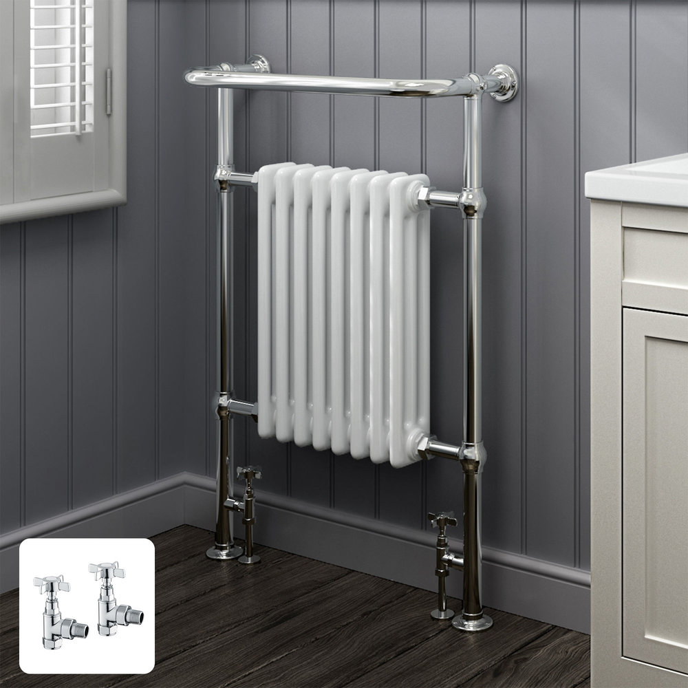 Soak Large Traditional White Towel Rail (£341.99)  Link here