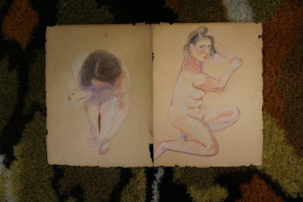 kerbi-urbanowski-Merav-Diptych-Portrait