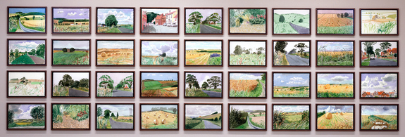 David Hockney Midsummer: East Yorkshire 2004