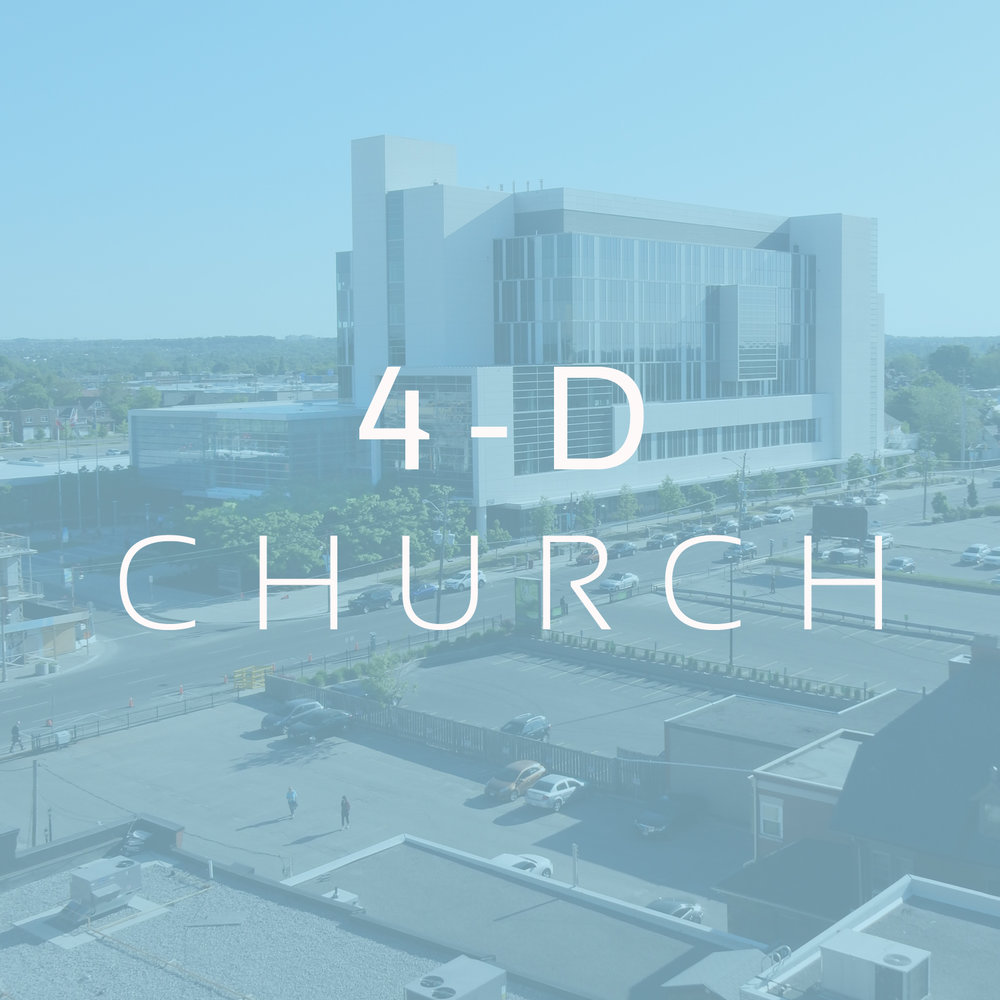 Durham, NC   4D is a Christ-centered, Bible-based church made up of people who are seeking to honor God by loving Him supremely in response to His great love for us.  The church is led by elders: Martie Mangum & Lee Boushell.