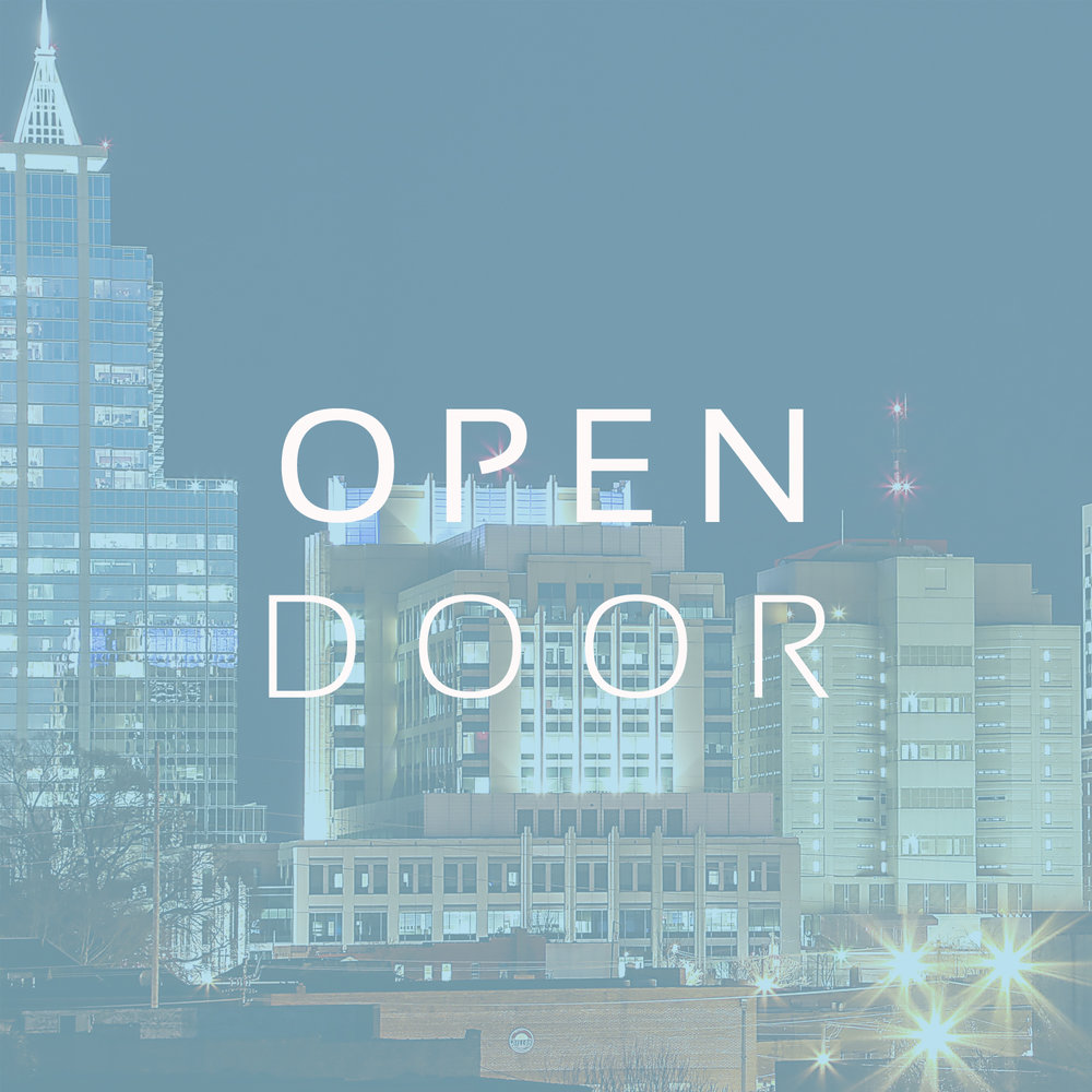 Raleigh, NC   Open Door meets off Durant Rd, north of the beltline.  This church was instrumental in forging the Pillar Network and currently partners with many plants.  Dwayne Milioni is the lead pastor and serves as the president of our board.