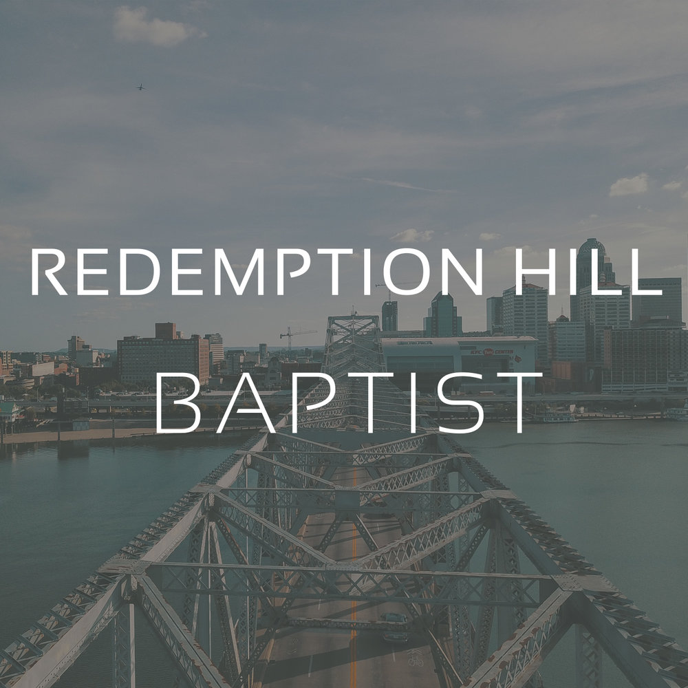Louisville, KY   Redemption Hill Baptist is an established church located not too far from The Southern Baptist Theological Seminary.  This church has a passion for missions and is led by a core of elders, of which, Justin Compton is the lead pastor.
