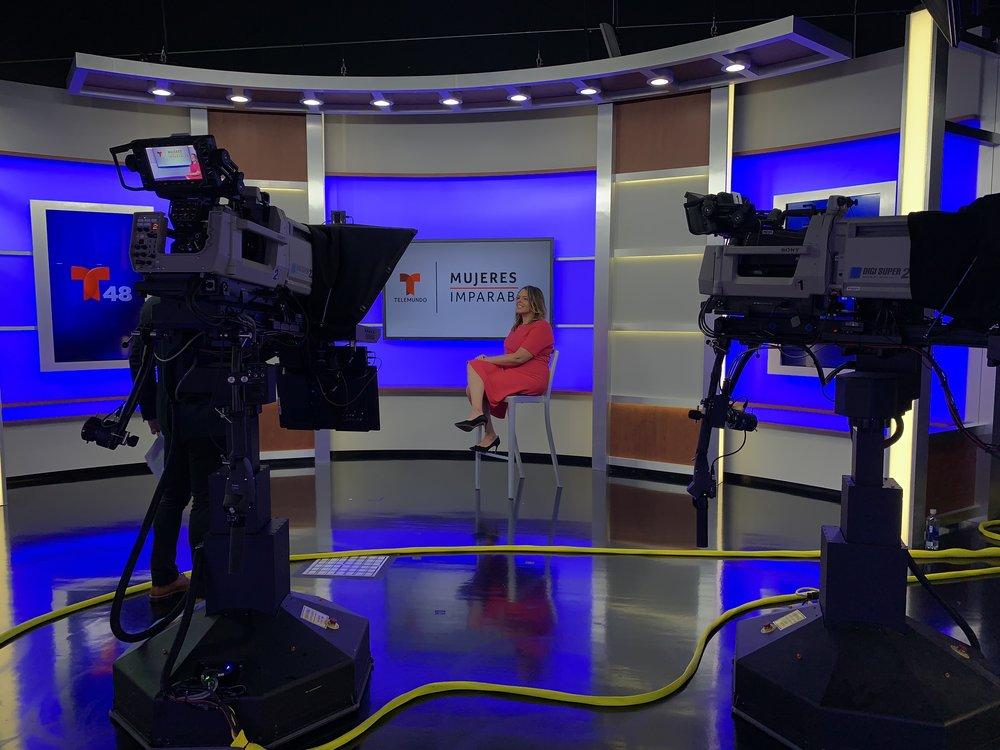 Interview Telemundo