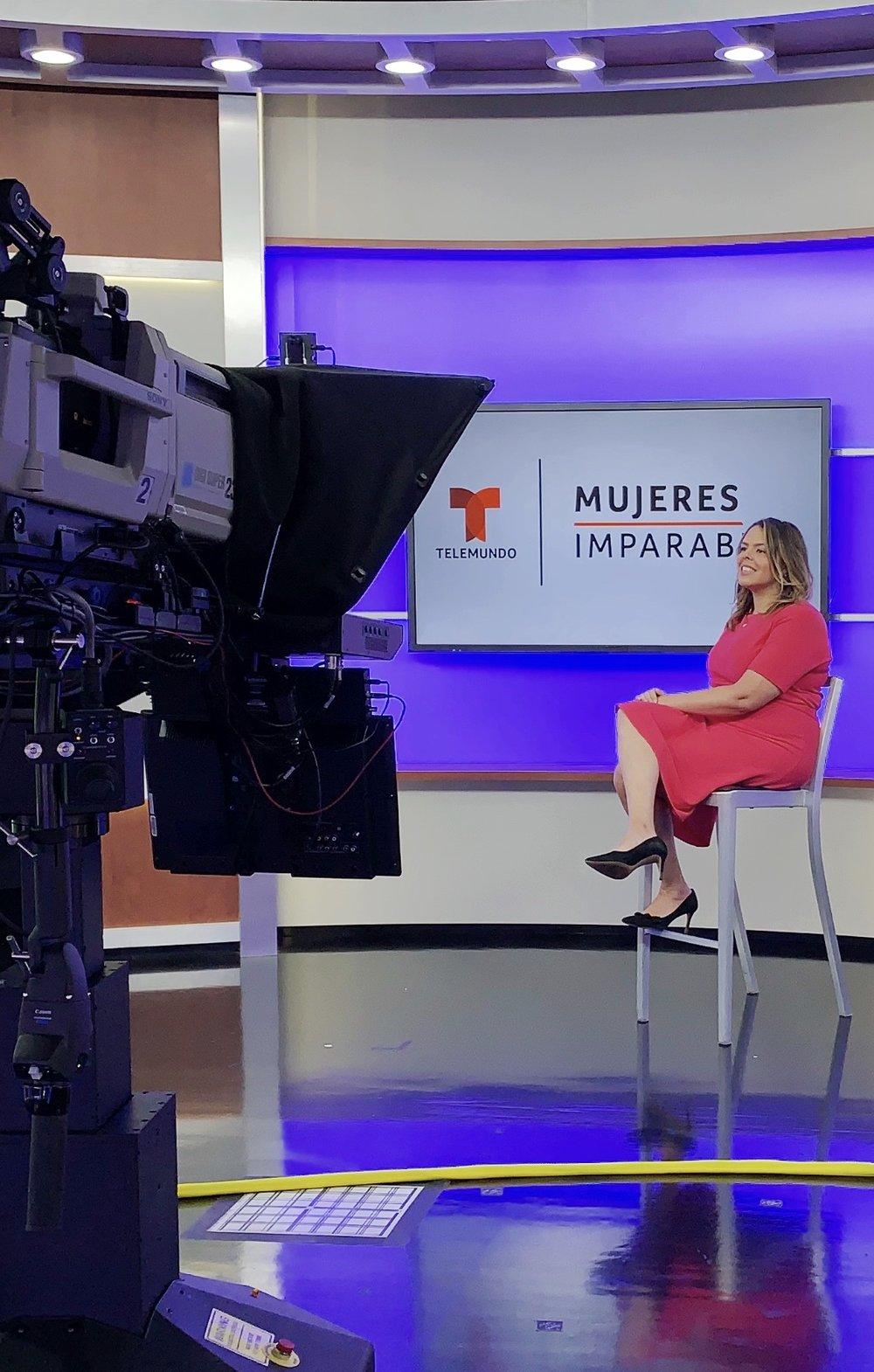 Interview with Telemundo