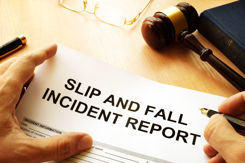 slip and fall injury case