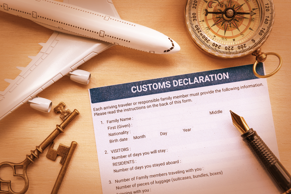 Custom Declaration Page