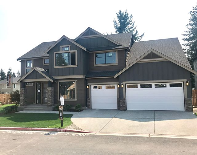 If a large yard and 5 car garage is what you are looking for, Lot 12 at our new Lake Ridge community is now available! (Garage doors yet to be painted)