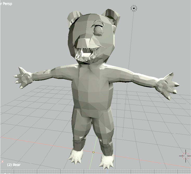 Bear 1.2 (Blender)