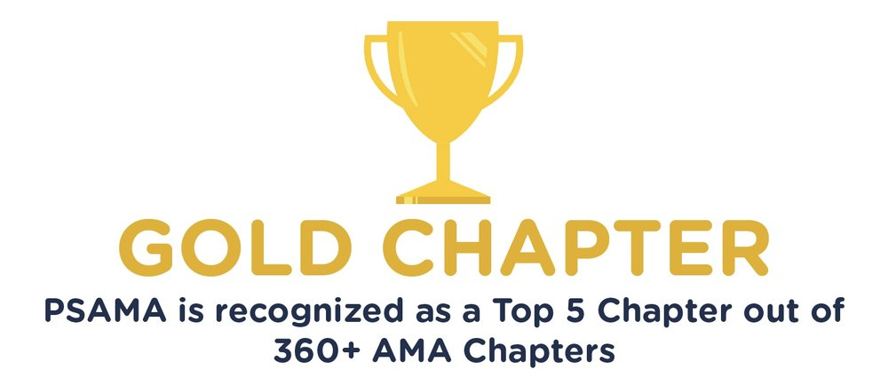 - Penn State AMA was recognized as a Gold Chapter within the American Marketing Association for 2016 - 2017