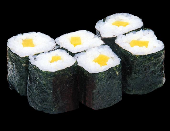 Pickled Radish Roll