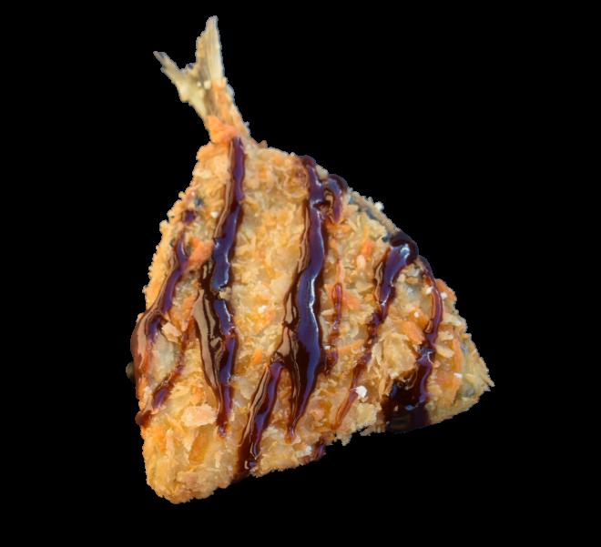 Deep Fried Horse Mackerel - $ 2.00