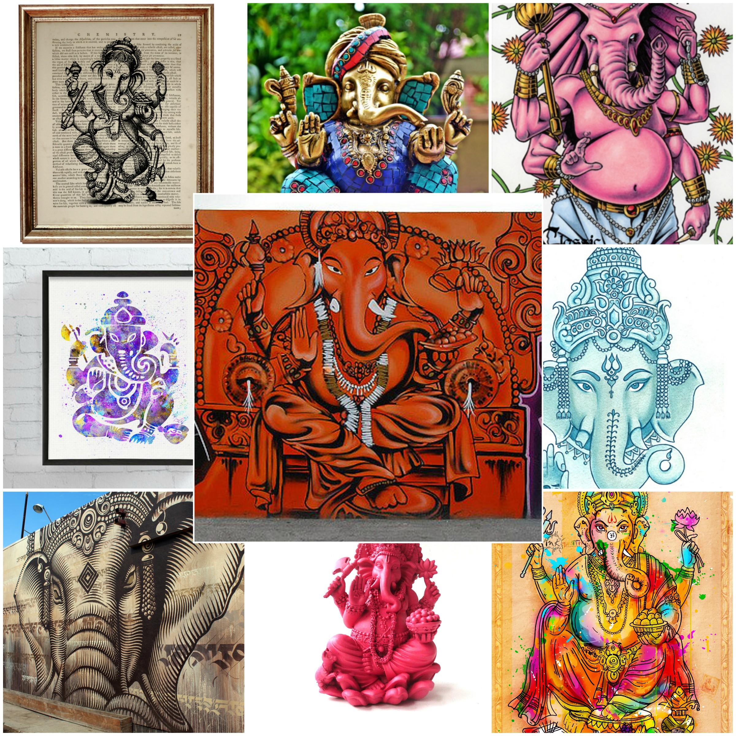 Ganesha Collage