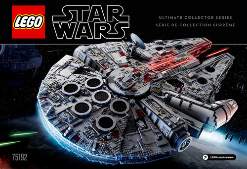 Lego Ucs Millennium Falcon Building Instructions Peter Cangialosi