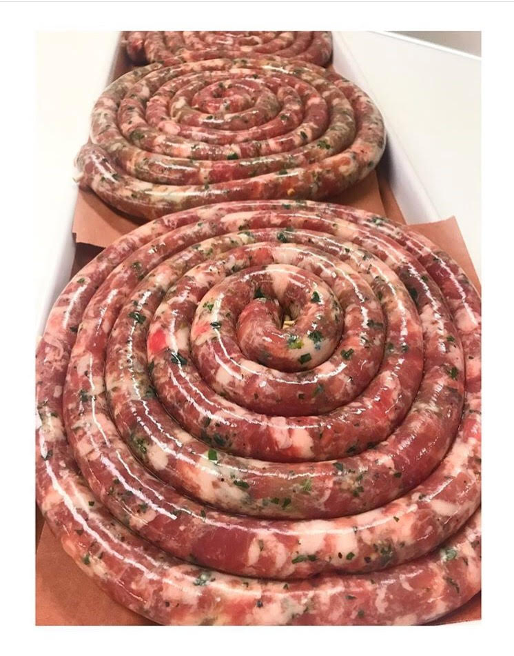 Cheese & Parsley Sausage MADE DAILY!