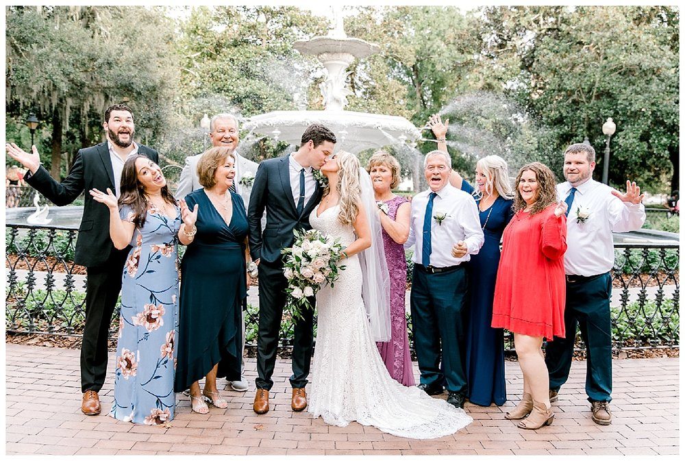 Savannah Georgia Forsyth Park Wedding