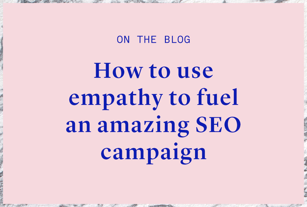 How do empathy and seo work together?