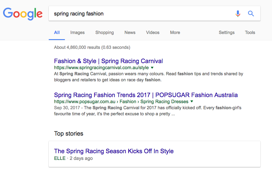 Google fresh content seo ranking signal
