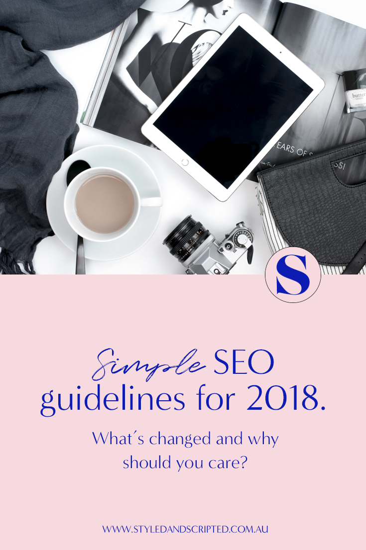 seo guidelines in 2018
