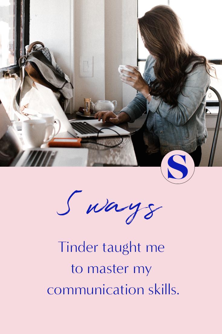 tinder and copywriting