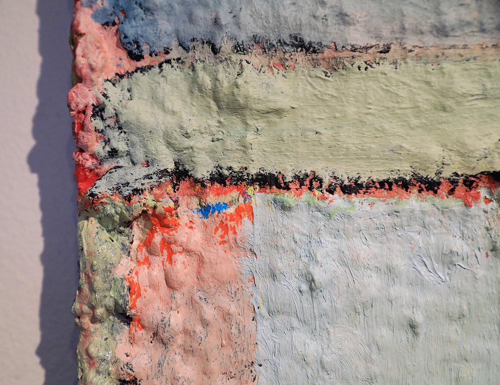 "Detail: Douglas Degges ""Untitled,"" 2018."