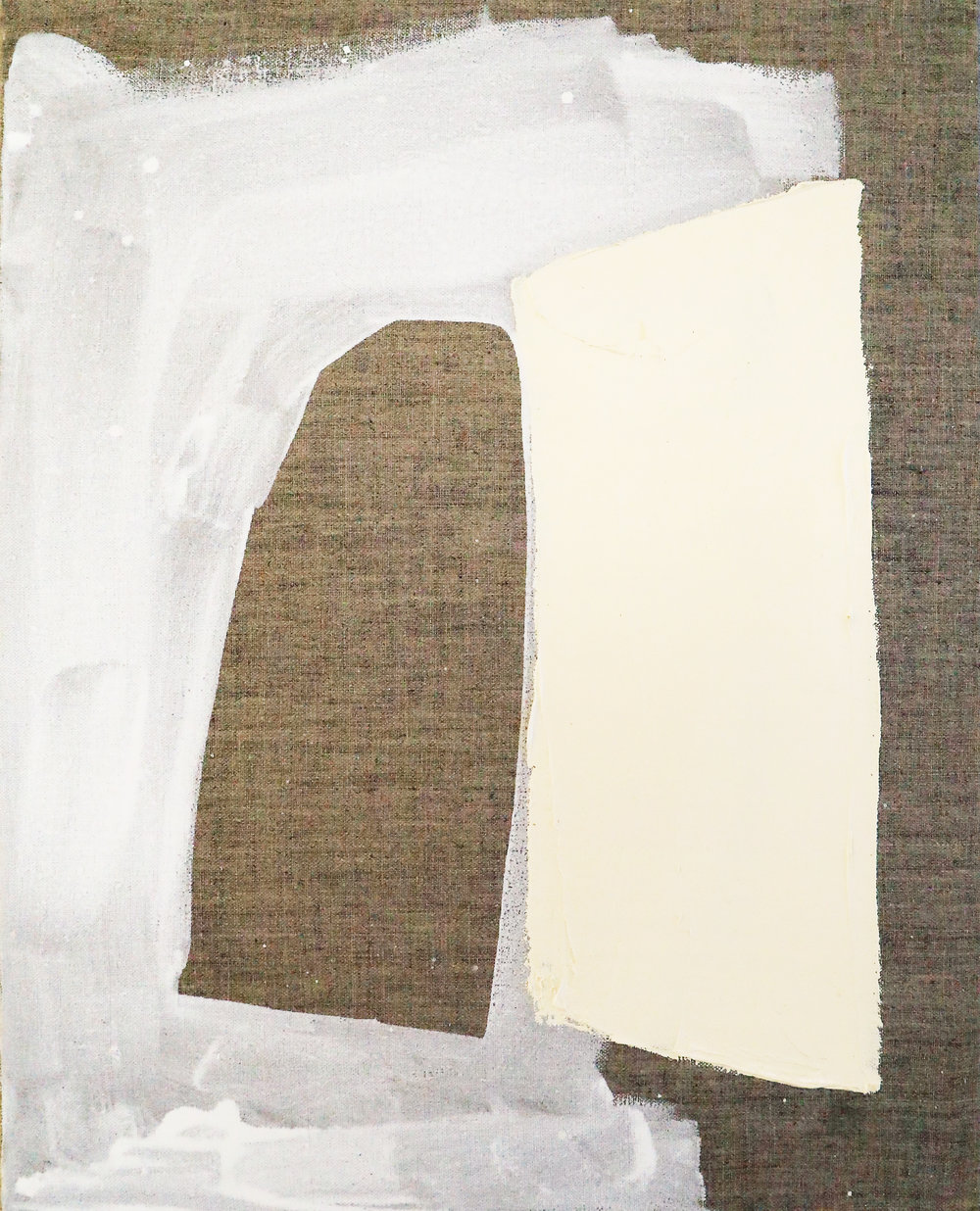 "Carri Jobe. ""Prop."" 2017. Oil on Canvas."