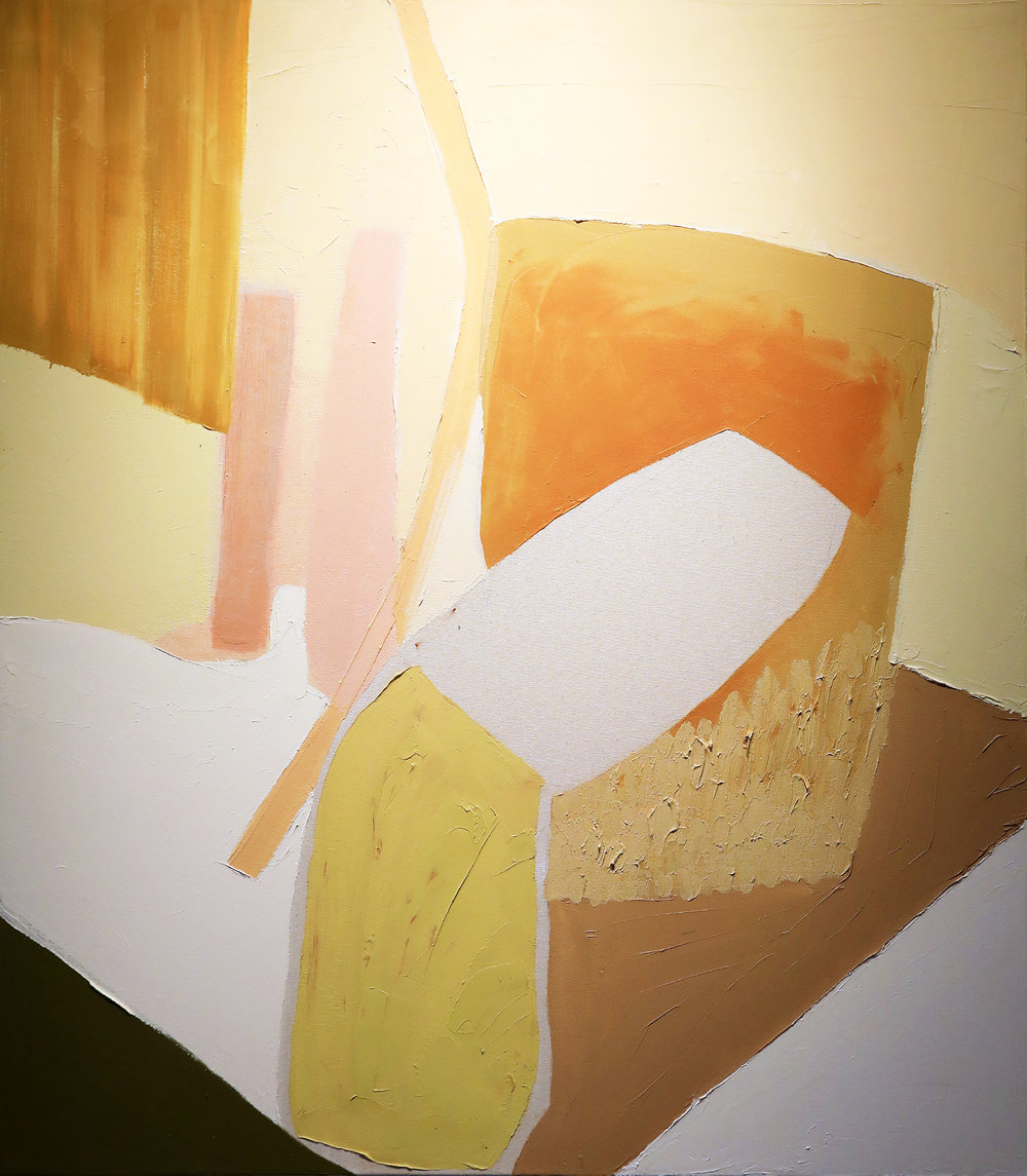Carri Jobe.  On Stage.  2016. oil on canvas.