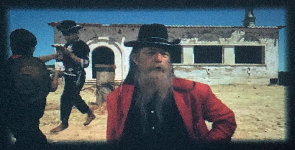 Film Still. Martha Colburn.  Western Wild, How I Found Wanderlust and Met Old Shatterhand.