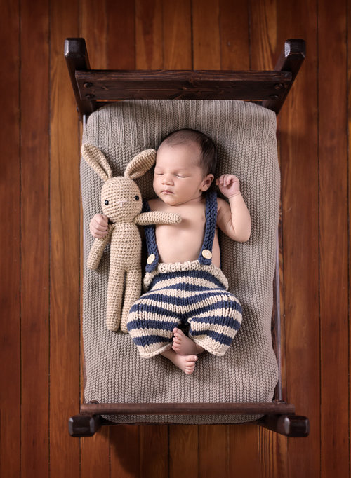 Baby and bed jpg