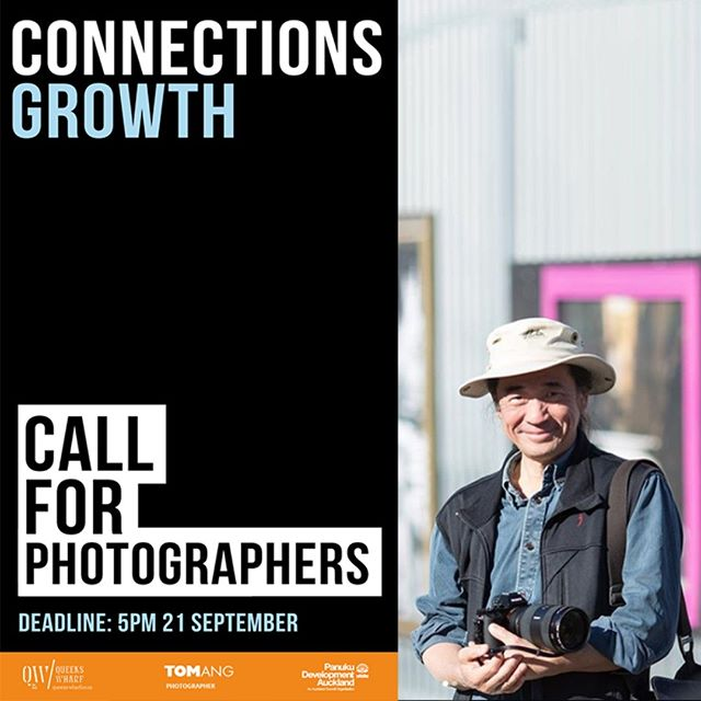 Interested in photography? Want to be mentored by an internationally renowned photographer? Want to be part of a group photography exhibition for the whole city to see? We're call for applications for CONNECTIONS - GROWTH. A group photography exhibition expertly mentored and curated by international photographer Tom Ang @tomangphoto @yourwaterfront - Find out more = http://www.wynyard-quarter.co.nz/things-to-do/connections-growth
