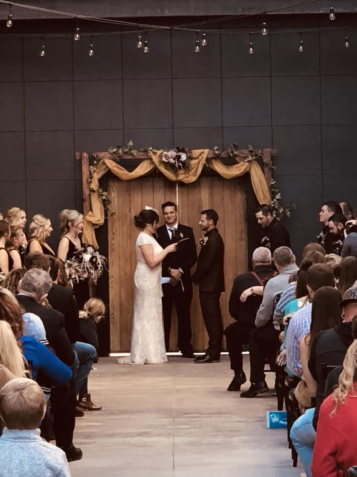 Outdoor space to hold the small ceremony of your dreams.  This space can fit up to 150 guests.
