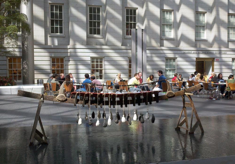 Burden Boat, Smithsonian Museum