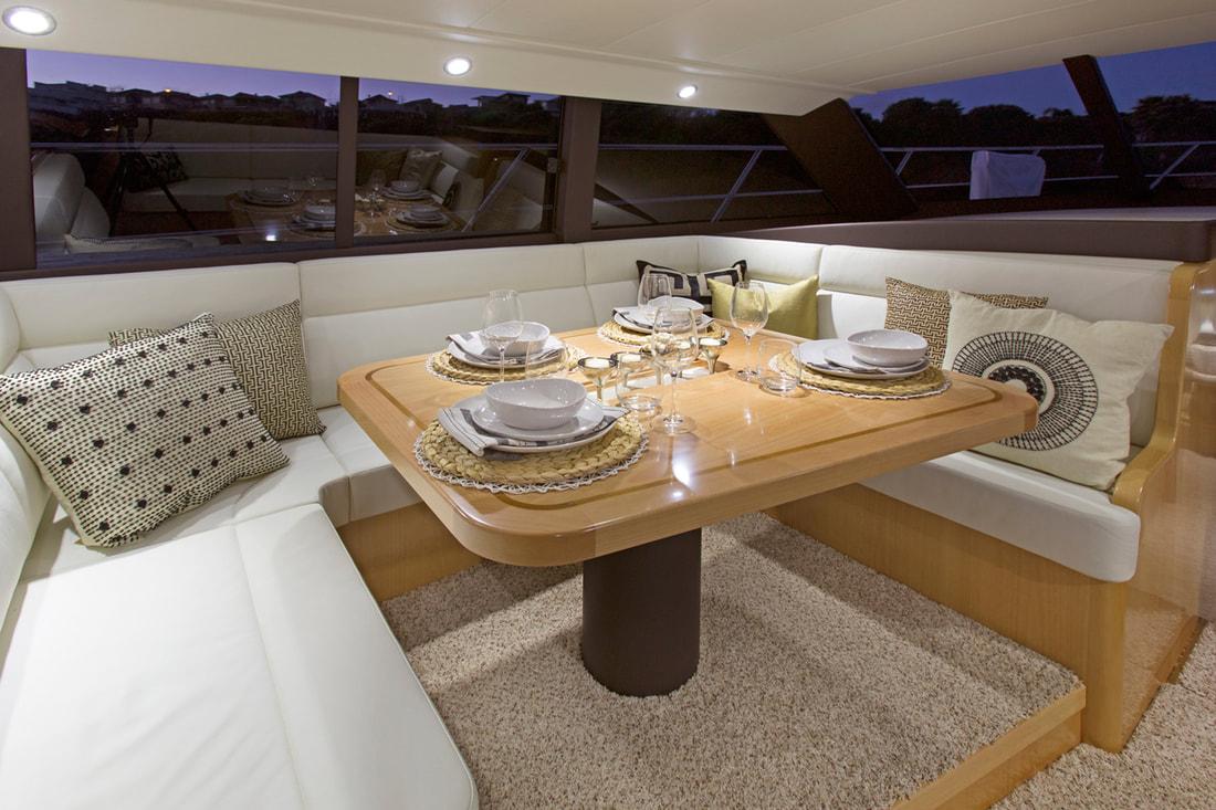Donna Maree Yacht Interior Design — Comprehensive ...