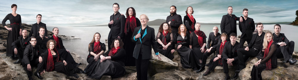 Group Portrait of the New Zealand Chamber Choir
