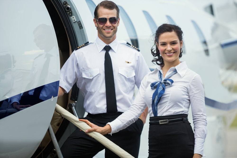 The worlds best pilots. - All of our crew members are Argus Gold or Platinum. The best clients deserve the worlds best crew members.