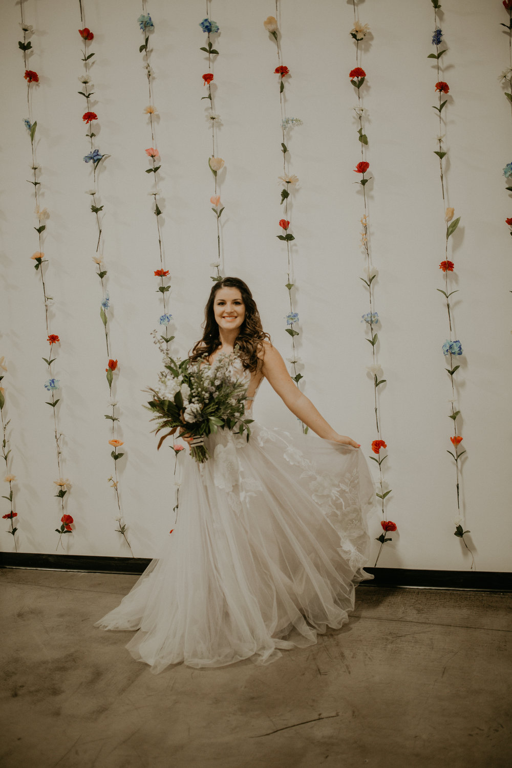 Spokane wedding dress photo shoot Honest in Ivory