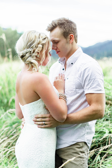 Liberty Lake Washington Wedding Dress Photo shoot