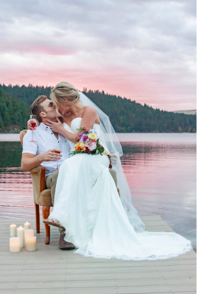 Liberty Lake Washington Wedding Dress Photo shoot 9