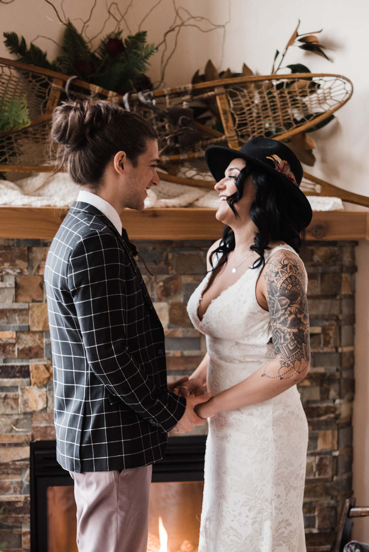 winter wedding spokane wedding dress