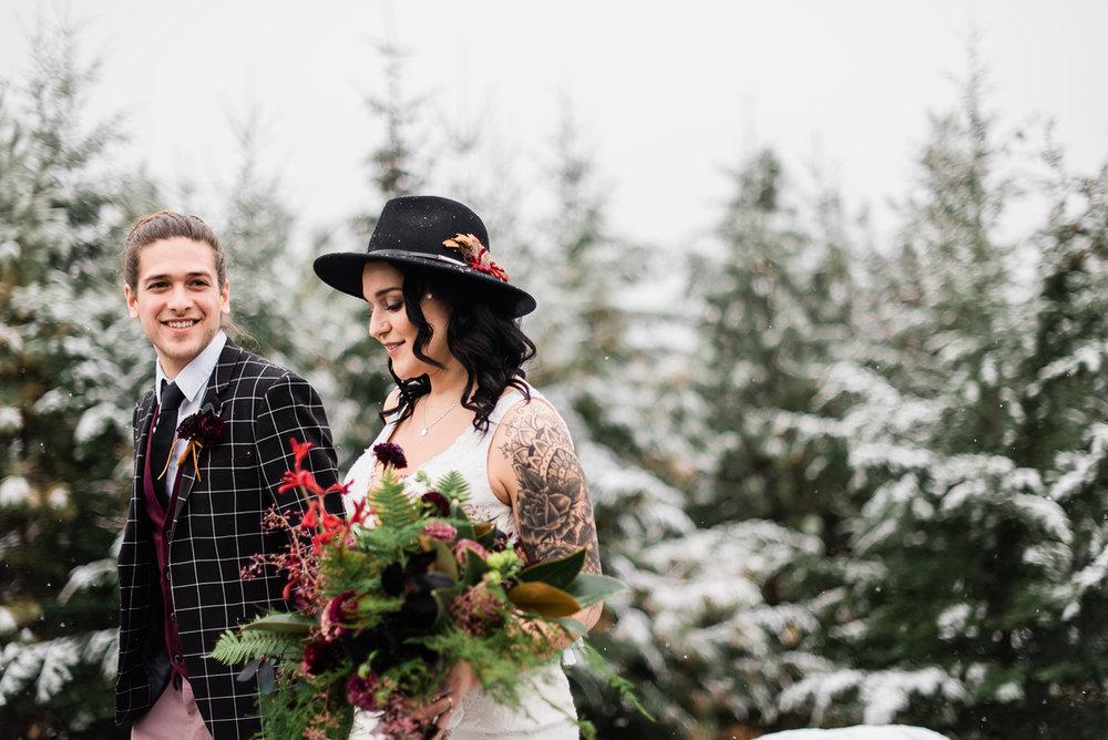 wedding winter spokane dress
