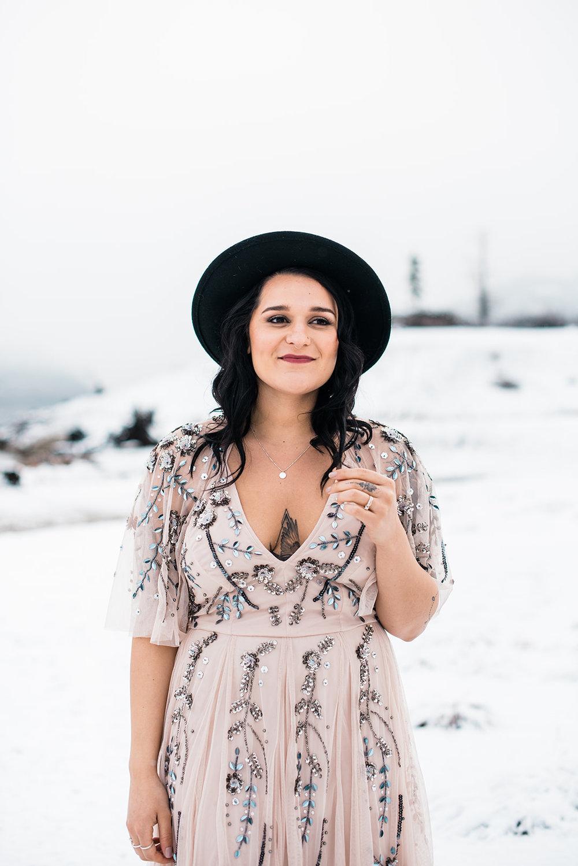 wedding dress spokane winter