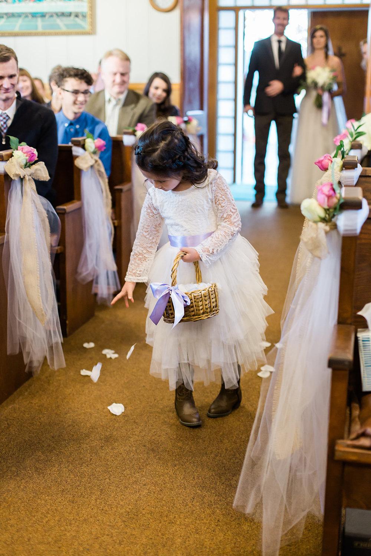 spokane wedding dress flower girl