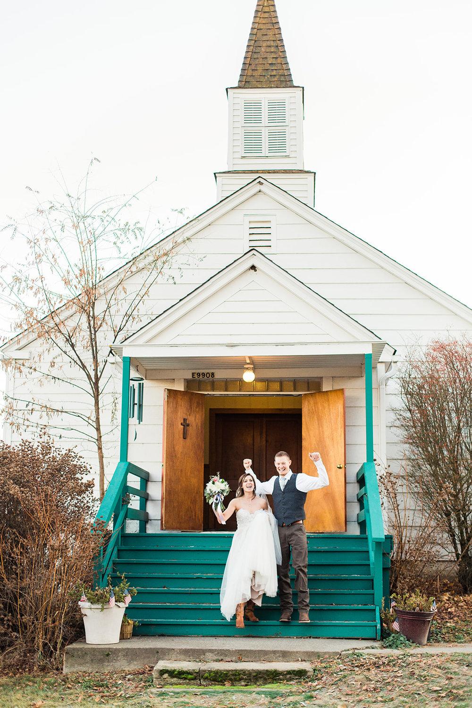 just married spokane wedding dress honest in ivory