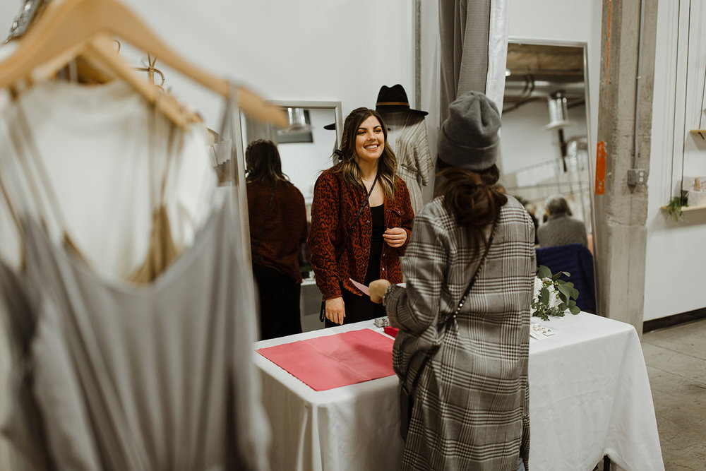 spokane wedding dress fashion show shopping