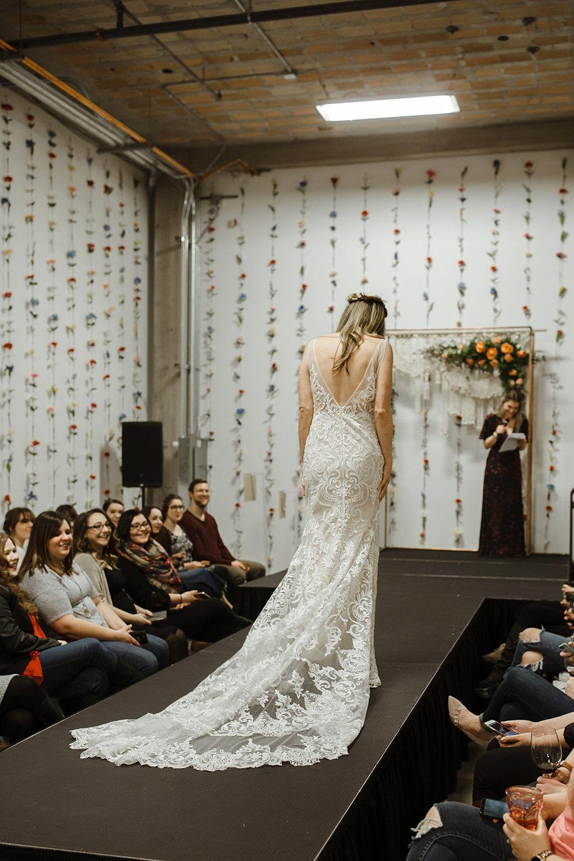 spokane wedding dress bride fashion show model