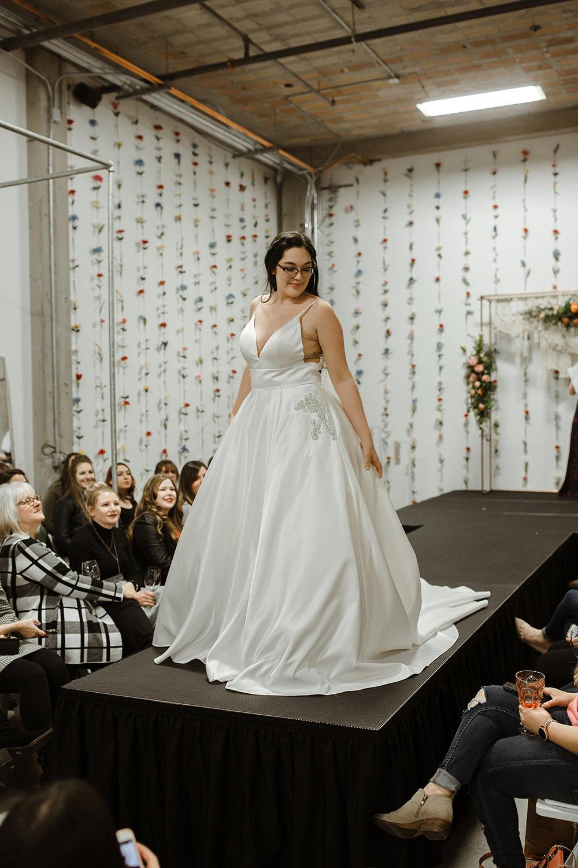 spokane wedding dress bride model fashion show