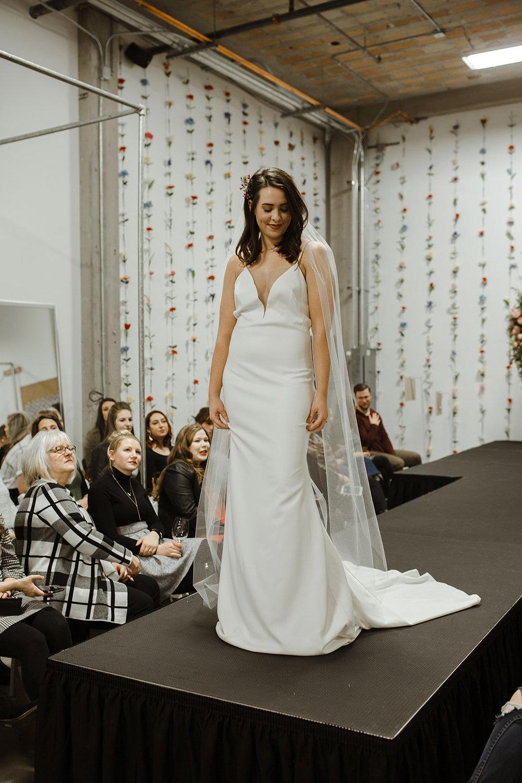 spokane wedding dress fashion show veil simple