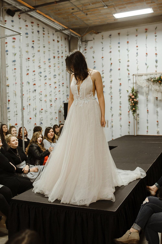 spokane wedding dress fashion show bridal model