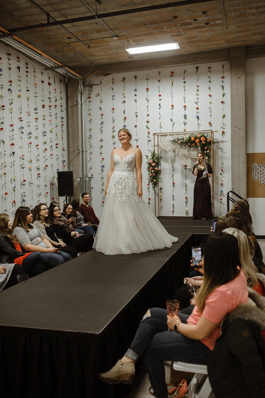 spokane wedding dress fashion show model emcee cassie david