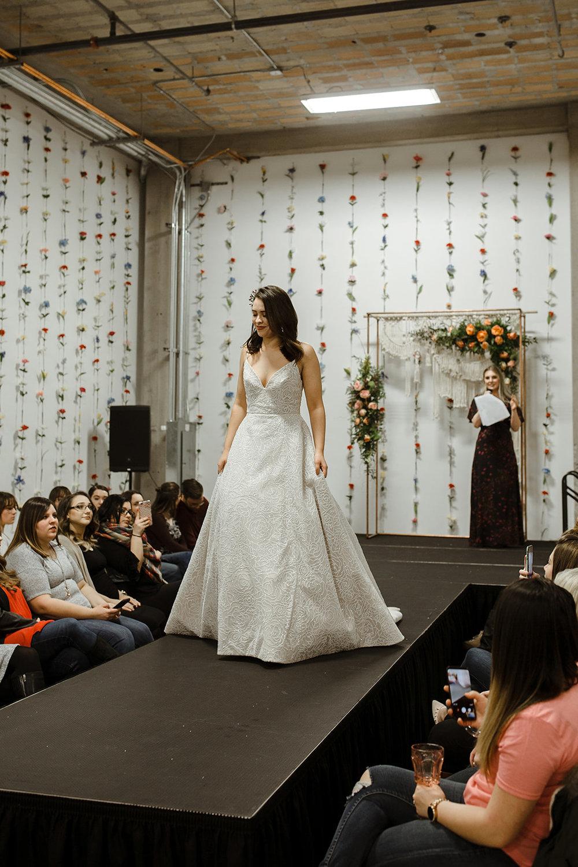 spokane wedding dress fashion show ballgown bridal model